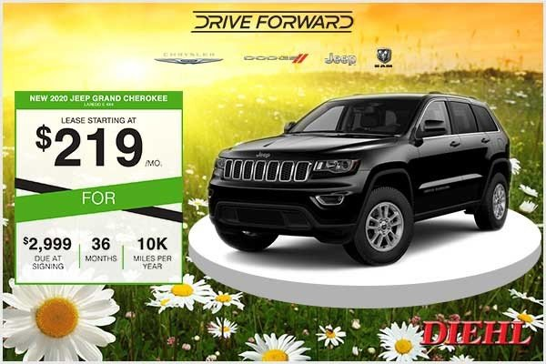 Special offer on 2020 Jeep Grand Cherokee New 2020 Jeep Grand Cherokee Laredo E 4x4