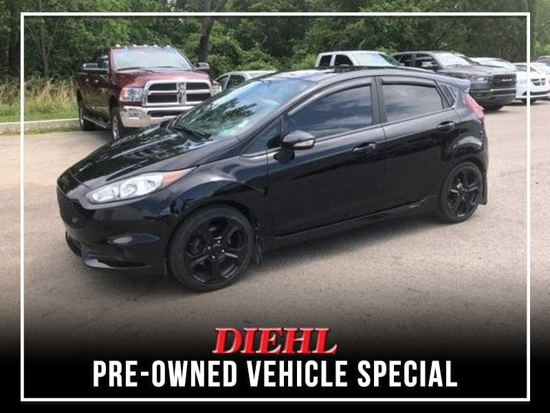 Special offer on 0   PRE-OWNED 2018 FORD FIESTA ST FWD