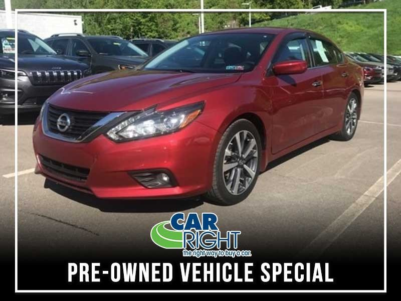 Special offer on 0   PRE-OWNED 2016 NISSAN ALTIMA 2.5 SR FWD