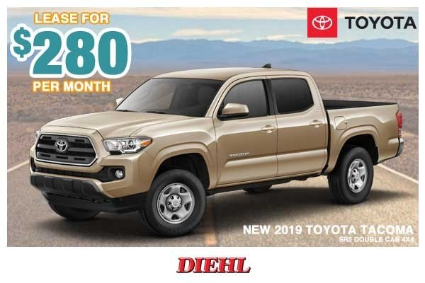 Special offer on 0   NEW 2019 TOYOTA TACOMA SR5 DOUBLE CAB