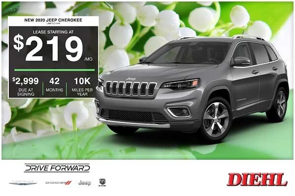 Special offer on 2020 Jeep Cherokee NEW 2020 JEEP CHEROKEE LIMITED 4×4