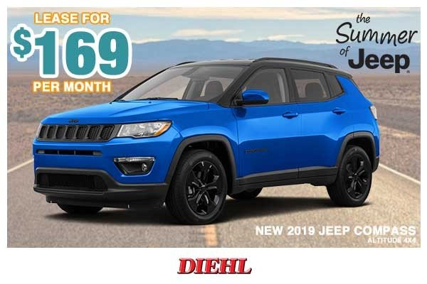 Special offer on 0   NEW 2019 JEEP COMPASS ALTITUDE