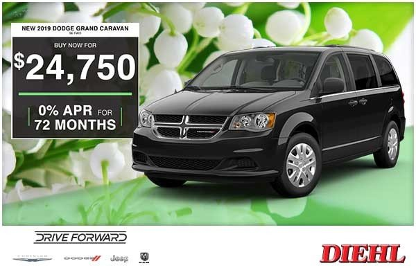Special offer on 0   NEW 2019 DODGE GRAND CARAVAN SE AWD
