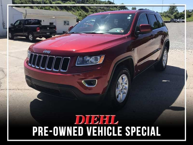 Special offer on 0   CERTIFIED PRE-OWNED 2015 JEEP GRAND CHEROKEE LARED