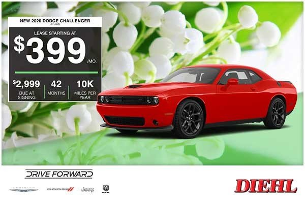 Special offer on 2020 Dodge Challenger NEW 2020 DODGE CHALLENGER GT AWD