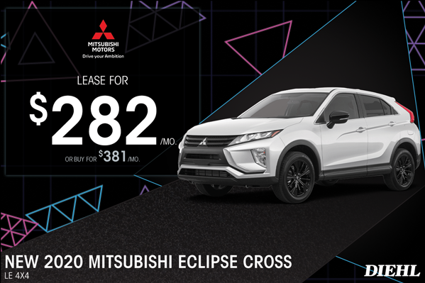 Special offer on 2020 Mitsubishi Eclipse Cross 2020 ECLIPSE CROSS
