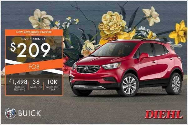 Special offer on 2020 Buick Encore NEW 2020 BUICK ENCORE PREFERRED AWD