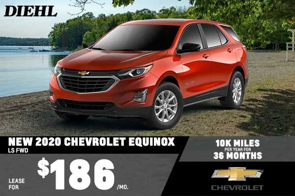 Special offer on 2020 Chevrolet Equinox NEW 2020 CHEVROLET EQUINOX LS FWD