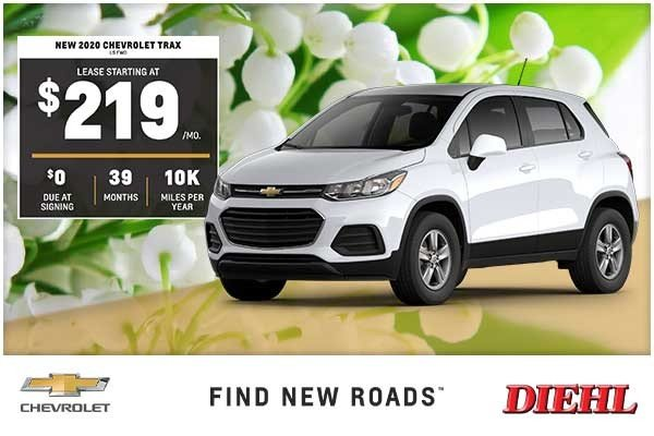 Special offer on 2020 Chevrolet Trax NEW 2020 CHEVROLET TRAX LS FWD