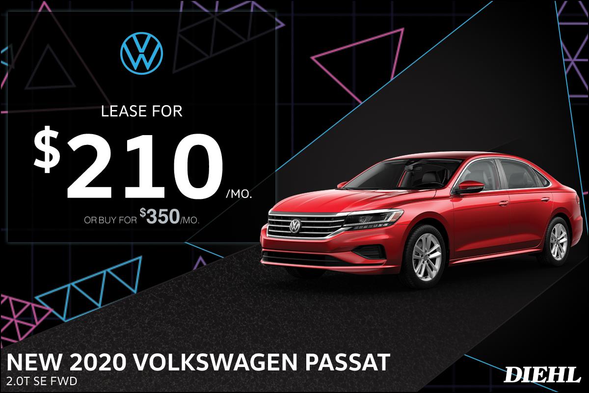 Special offer on 0   2020 PASSAT