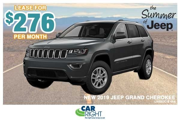 Special offer on 0   NEW 2019 JEEP GRAND CHEROKEE LAREDO E