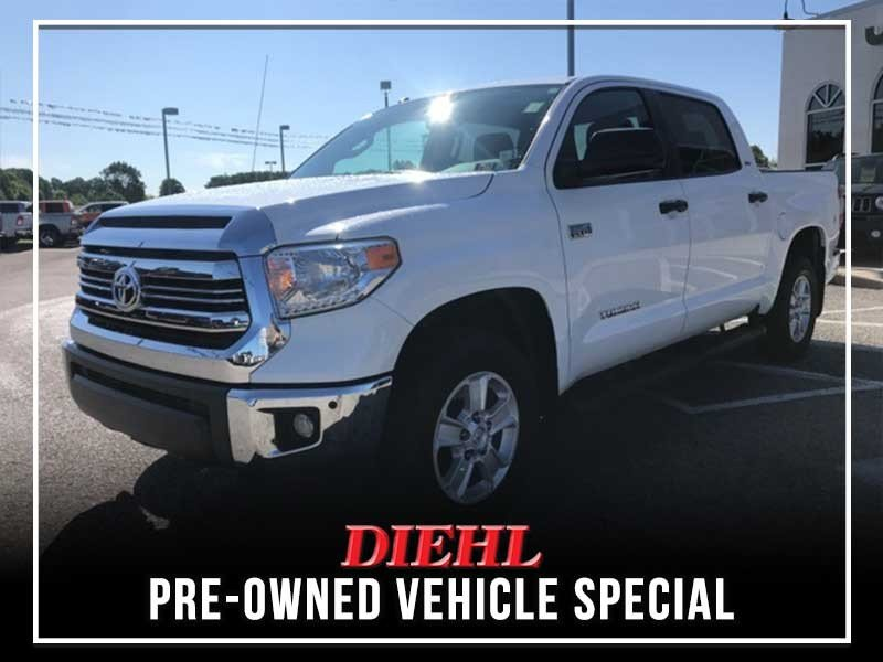 Special offer on 0   PRE-OWNED 2016 TOYOTA TUNDRA SR5 4X4