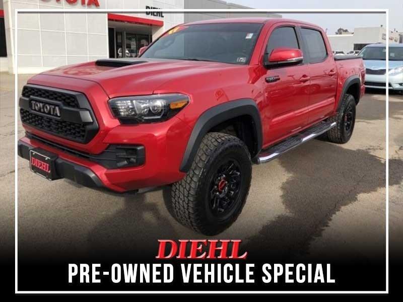 Special offer on 0   PRE-OWNED 2017 TOYOTA TACOMA TRD PRO
