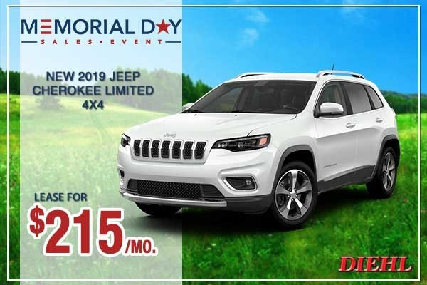 Special offer on 0   NEW 2019 JEEP CHEROKEE LIMITED 4X4