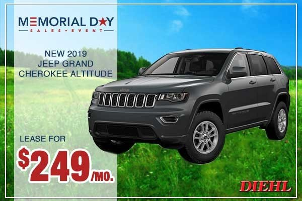 Special offer on 0   NEW 2019 JEEP GRAND CHEROKEE ALTITUDE 4X4