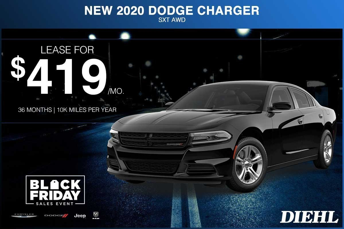 Special offer on 2020 Dodge Charger NEW 2020 DODGE CHARGER SXT AWD