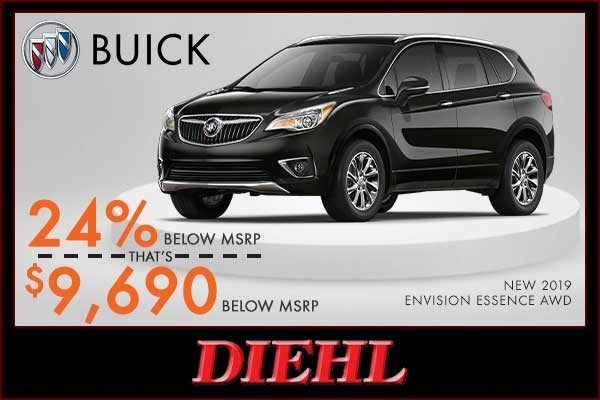 Special offer on 0   NEW 2019 BUICK ENVISION ESSENCE AWD