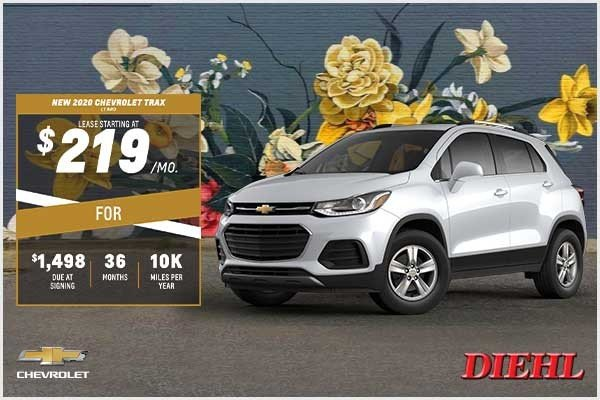 Special offer on 2020 Chevrolet Trax NEW 2020 CHEVROLET TRAX LT AWD