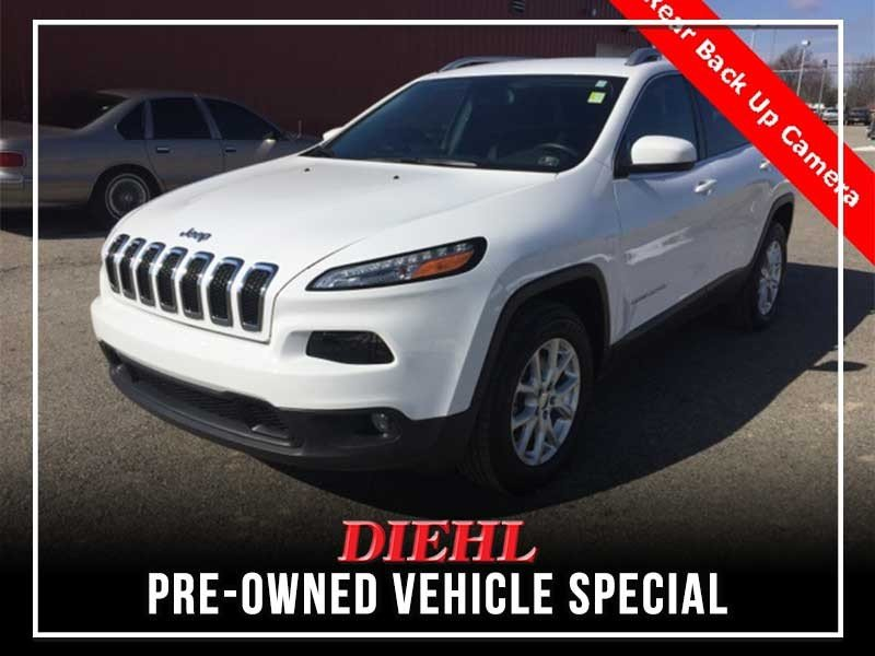 Special offer on 0   Certified 2018 Jeep Cherokee Latitude Plus