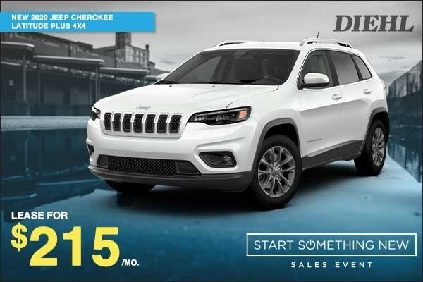 Special offer on 2020 Jeep Cherokee NEW 2020 JEEP CHEROKEE LATITUDE PLUS 4X4
