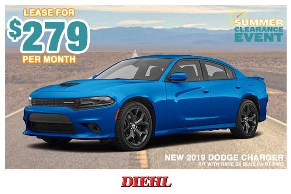 Special offer on 0   NEW 2019 DODGE CHARGER R/T