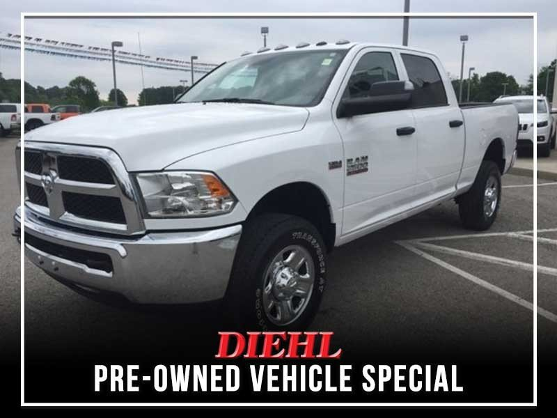 Special offer on 0   CERTIFIED PRE-OWNED 2017 RAM 2500 TRADESMAN HEMI V