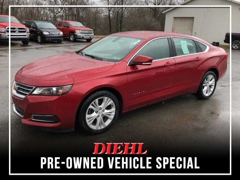 Special offer on 0   Pre-owned 2015 Chevy Impala LT