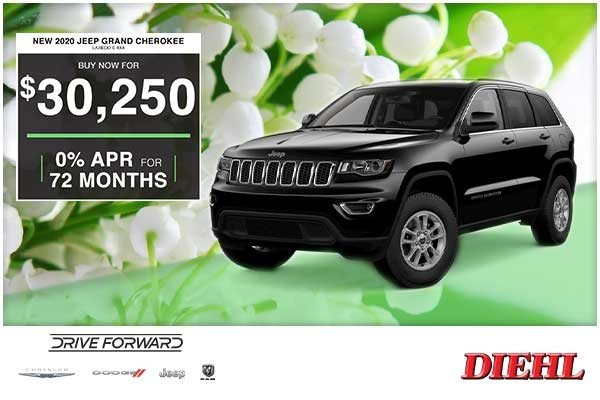 Special offer on 0   NEW 2020 JEEP GRAND CHEROKEE LAREDO E 4X4