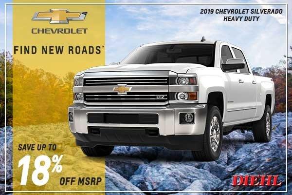 Special offer on 2019 Chevrolet Silverado 2500HD NEW 2019 CHEVROLET SILVERADO HEAVY DUTY