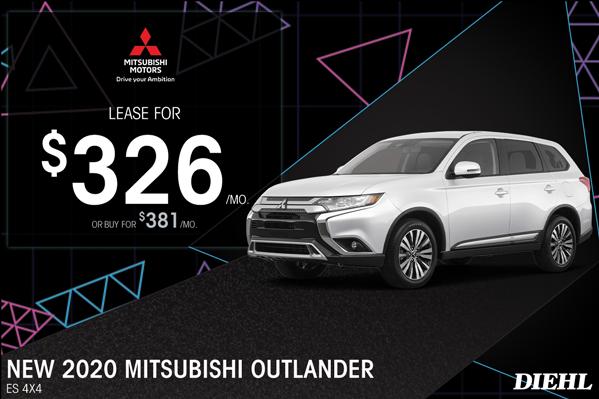Special offer on 2020 Mitsubishi Outlander 2020 OUTLANDER