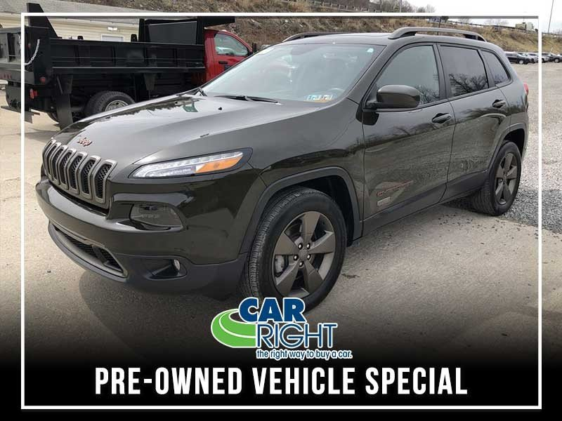 Special offer on 0   CERTIFIED PRE-OWNED 2016 JEEP CHEROKEE 75TH ANNIVE