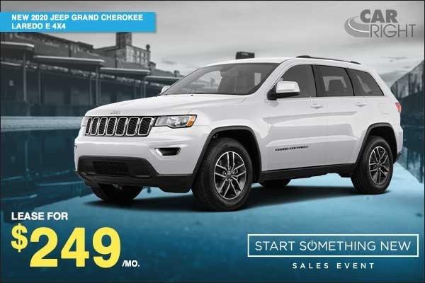 Special offer on 2020 Jeep Grand Cherokee NEW 2020 JEEP GRAND CHEROKEE LAREDO E 4X4