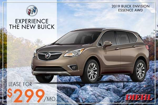 Special offer on 2019 Buick Envision NEW 2019 BUICK ENVISION ESSENCE AWD