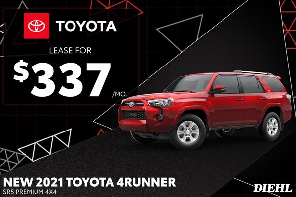 Special offer on 2021 Toyota 4Runner 2021 4RUNNER