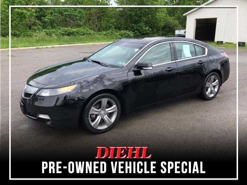 Special offer on 0   PRE-OWNED 2012 ACURA TL TECH AWD