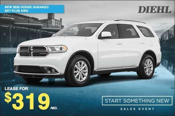 Special offer on 2020 Dodge Durango NEW 2020 DODGE DURANGO SXT PLUS AWD