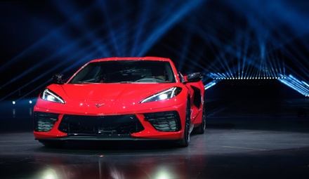 diehl auto grove city chevrolet corvette stingray mid engine muscle car fast hidden door handles rear wheel drive exclusive new