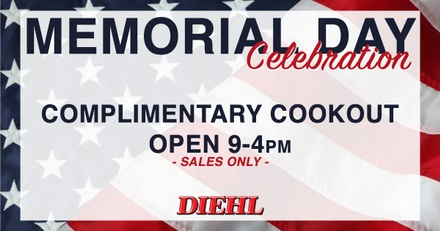 memorial day cookout diehl auto butler salem ohio robinson grove city chrysler dodge jeep ram chevrolet buick cadillac toyota volkswagen mitsubishi