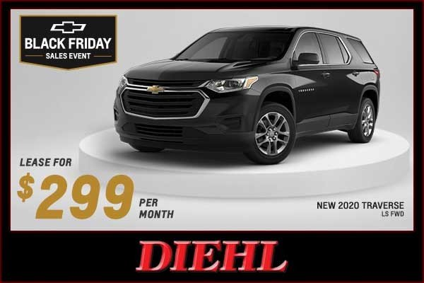 Special offer on 2020 Chevrolet Traverse NEW 2020 CHEVY TRAVERSE LS FWD