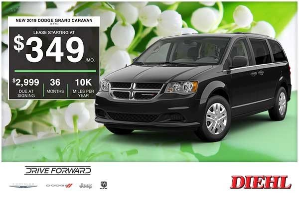 Special offer on 2019 Dodge Grand Caravan NEW 2019 DODGE GRAND CARAVAN SE AWD