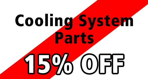 Coupon for 15% off cooling parts