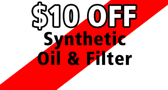 $10 Off Synthetic Oil & Filter