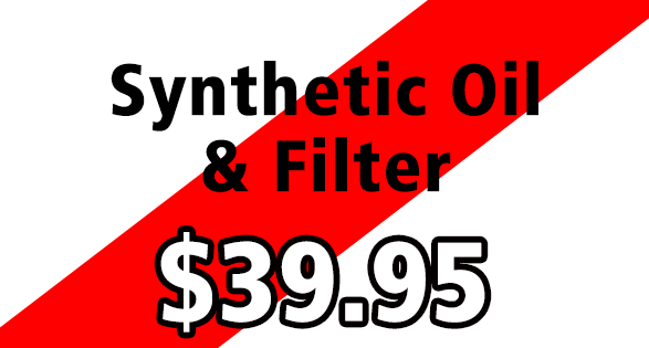 Coupon for Synthetic Oil Change