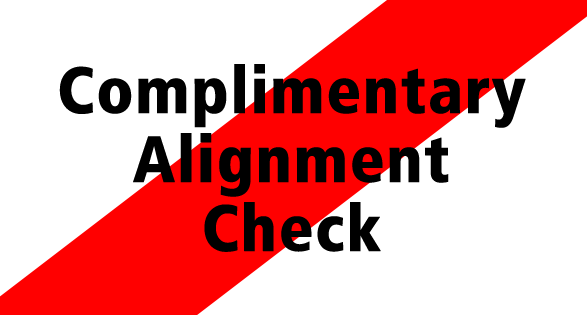 Coupon for COMPLIMENTARY ALIGNMENT FREE!