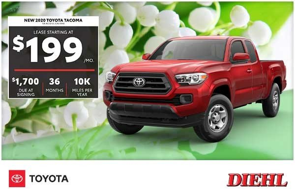 Special offer on 2020 Toyota Tacoma 4WD NEW 2020 TOYOTA TACOMA SR ACCESS CAB 4X4