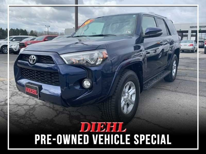 Special offer on 0   PRE-OWNED 2016 TOYOTA 4RUNNER SR5