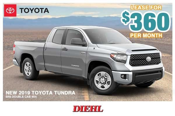 Special offer on 0   NEW 2019 TOYOTA TUNDRA SR5 DOUBLE CAB