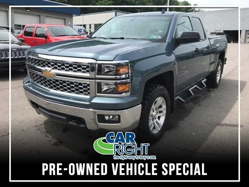 Special offer on 0   PRE-OWNED 2014 CHEVY SILVERADO 1500 LT 4X4