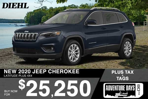 Special offer on 0   NEW 2020 JEEP CHEROKEE LATITUDE PLUS 4X4