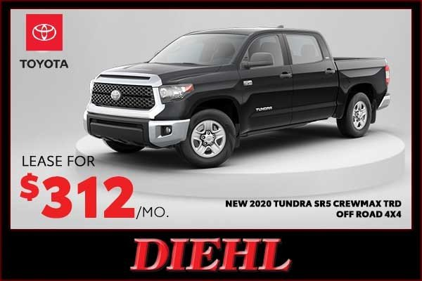 Special offer on 0   New 2020 Toyota Tundra SR5 Crewmax TRD OFF Road 4x